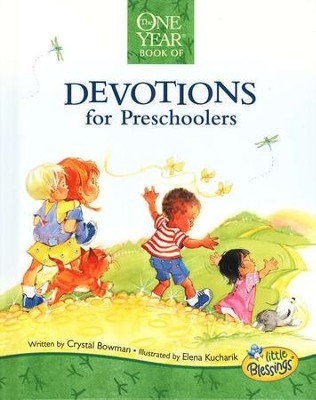 The One-Year Devotions for Preschoolers   -     By: Crystal Bowman
