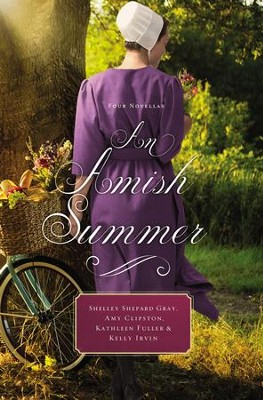 An Amish Summer: Four Novellas - eBook  -     By: Shelley Shepard Gray, Amy Clipston, Kathleen Fuller, Kelly Irvin     Illustrated By: Y
