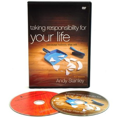 Taking Responsibility for Your Life: Because Nobody Else Will, DVD Study  -     By: Andy Stanley