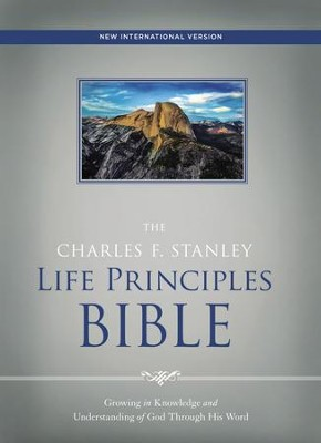 NIV, The Charles F. Stanley Life Principles Bible, eBook   -     Edited By: Charles Stanley