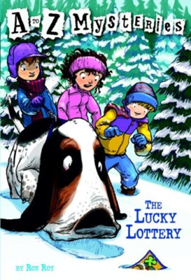 Lucky Lottery: A to Z Mysteries #12  -     By: Ron Roy     Illustrated By: John Steven Gurney