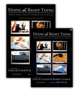 Doing the Right Thing, DVD Kit    -     By: Charles Colson