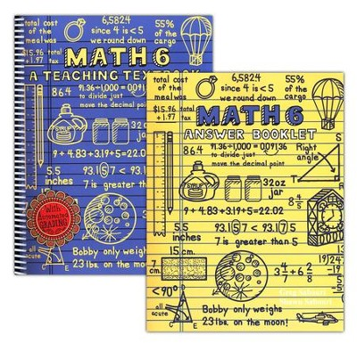 Teaching Textbooks Math 6 Workbook and Answer Key   -