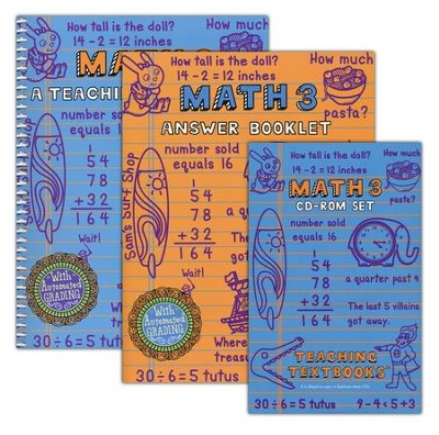 Teaching Textbooks Math 3 Complete Kit   -     By: Greg Sabouri, Shawn Sabouri
