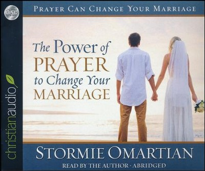 The Power of Prayer to Change Your Marriage, Abridged audio CD   -     Narrated By: Stormie Omartian     By: Stormie Omartian