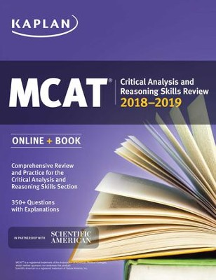 MCAT Critical Analysis and Reasoning Skills Review: Online + Book - eBook  -     By: Kaplan