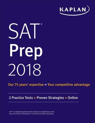 SAT 2018 Strategies, Practice, and Review with 3 Practice Tests: Online + Book - eBook  -     By: Kaplan