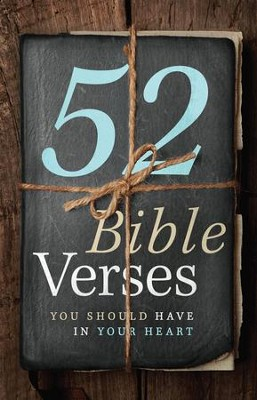 52 Bible Verses You Should Have in Your Heart - eBook  -