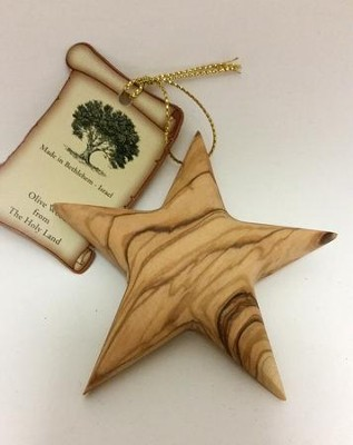 Thick Star Ornament  -