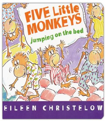 Five Little Monkeys Jumping on the Bed board book  -     By: Eileen Christelow