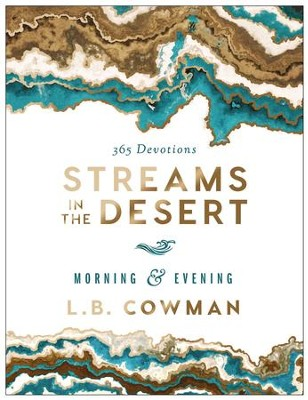 Streams in the Desert Morning and Evening: 365 Devotions - eBook  -     By: L.B. Cowman