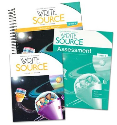 Write source grade 6 homeschool package 9780547898087 write source grade 6 homeschool package fandeluxe Gallery