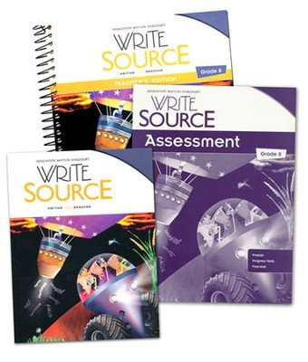 Write Source Grade 8 Homeschool Package   -