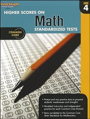 Higher Scores on Math Standardized Tests Grade 4 (2012 Edition)  -