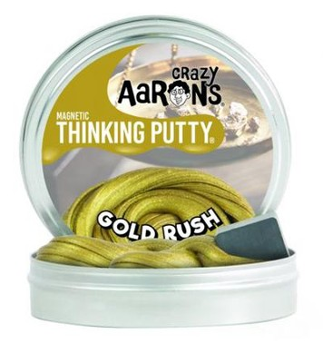 Gold Rush Super Magnetic Putty, Gold  -