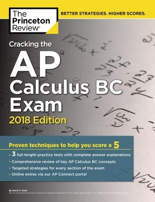 Cracking the AP Calculus BC Exam, 2018 Edition - eBook  -     By: Princeton Review