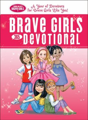 Brave Girls 365-Day Devotional - eBook  -