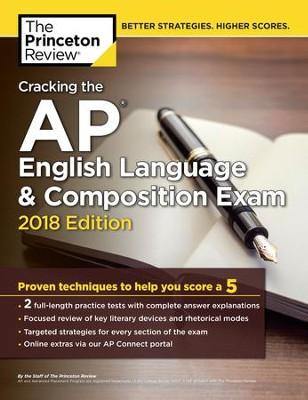 Cracking the AP English Language & Composition Exam, 2018 Edition - eBook  -     By: Princeton Review