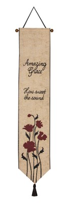 Amazing Grace Bellpull  -     By: Cindy Shamp