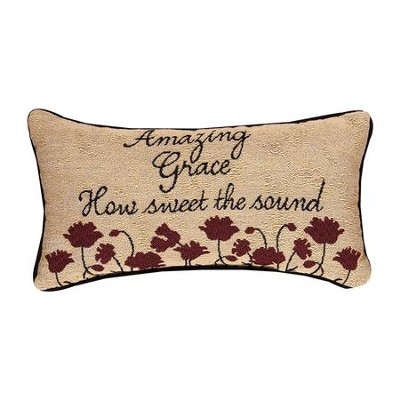 Amazing Grace Pillow  -     By: Cindy Shamp