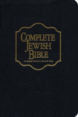 The Complete Jewish Bible, Bonded Leather Black   -     By: David H. Stern