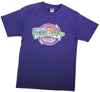 Bible Blast to the Past VBS 2015: T-Shirt: Adult Large (42-44)   -