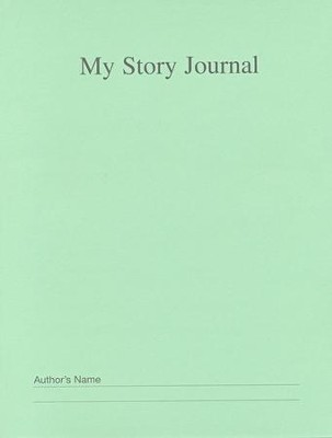 My Story Journal Green Grades 4 and Up   -