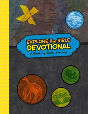 Explore the Bible Devotional: A Book-by-Book Journey  -