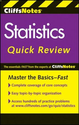 CliffsNotes Statistics Quick Review, 2nd Edition  -     By: Scott Adams, Peter Z. Orton, David H. Voelker