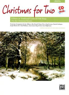 Christmas for Two Songbook & Accompaniment Audio CD  Any Voice Combination  -     By: Jean Anne Shafferman