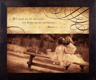 Sisters, Framed Print  -     By: Julie Chen