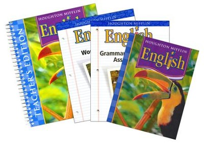 Houghton Mifflin English Grade 4 Homeschool Package   -