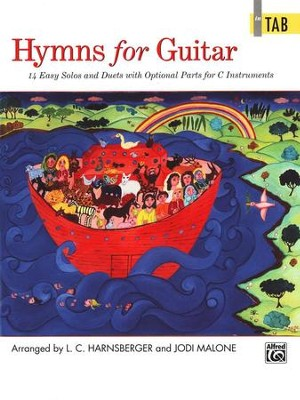 Hymns for Guitar: 14 Easy Solos and Duets   -