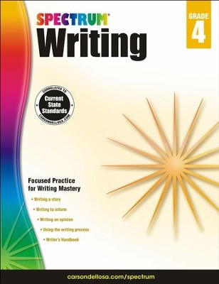 Spectrum Writing Grade 4 (2014 Update)  -