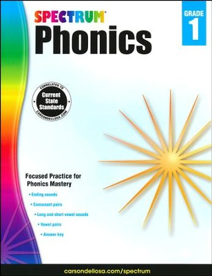 Spectrum Phonics & Word Study Grade 1 (2014 Update)  -