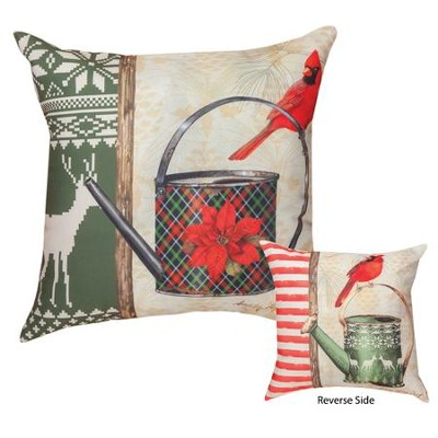 Christmas Garden Patch Pillow  -     By: Sandy Clough