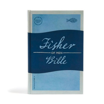 CSB Fisher of Men Bible, Hardcover  -