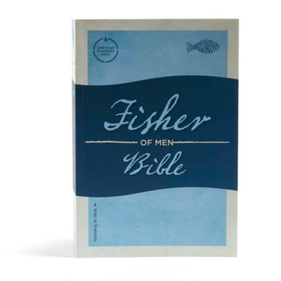 CSB Fisher of Men Bible, Softcover  -
