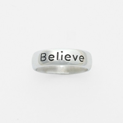 Believe Ring, Size 7  -