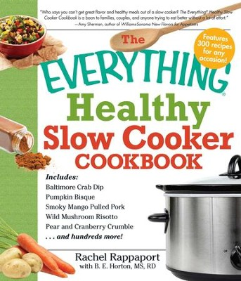 The Everything Healthy Slow Cooker Cookbook - eBook  -     By: Rachel Rappaport