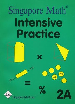 Singapore Math Primary Math Intensive Practice U.S. Ed 2A   -