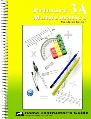 Primary Mathematics Home Instructor's Guide 3A (Standards Edition)  -