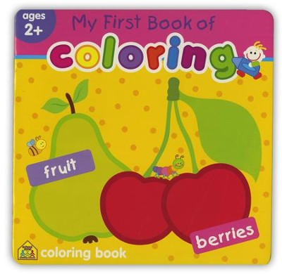 My First Book of Coloring: Fruit & Berries   -