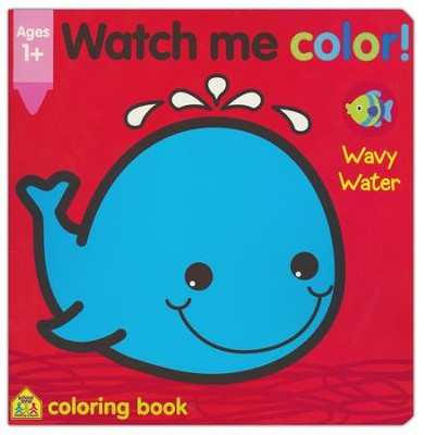 Watch Me Color! Wavy Water   -