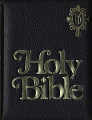 NAB Catholic Family Bible, Imitation Leather, Black   -