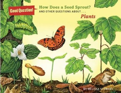 What Makes a Seed Sprout?: And Other Questions about How Plants Grow  -     By: Melissa Stewart