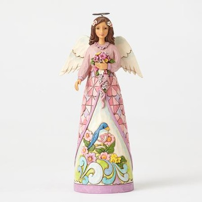 Angel Figurine, Bloom From Within  -     By: Jim Shore