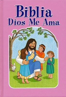 Biblia Dios Me Ama, Rosa  (God Loves Me Bible, Pink)  -