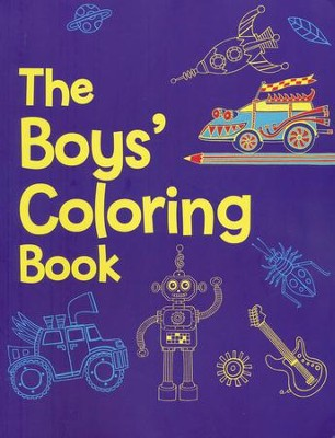The Boys Coloring Book, Ages 3-6   -     By: Jessie Eckel
