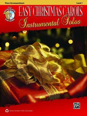 Easy Christmas Carols Instrumental Solos: Piano Book & CD  -